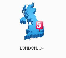 London, England Web Hosting